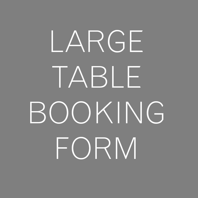 Large Table Booking Form