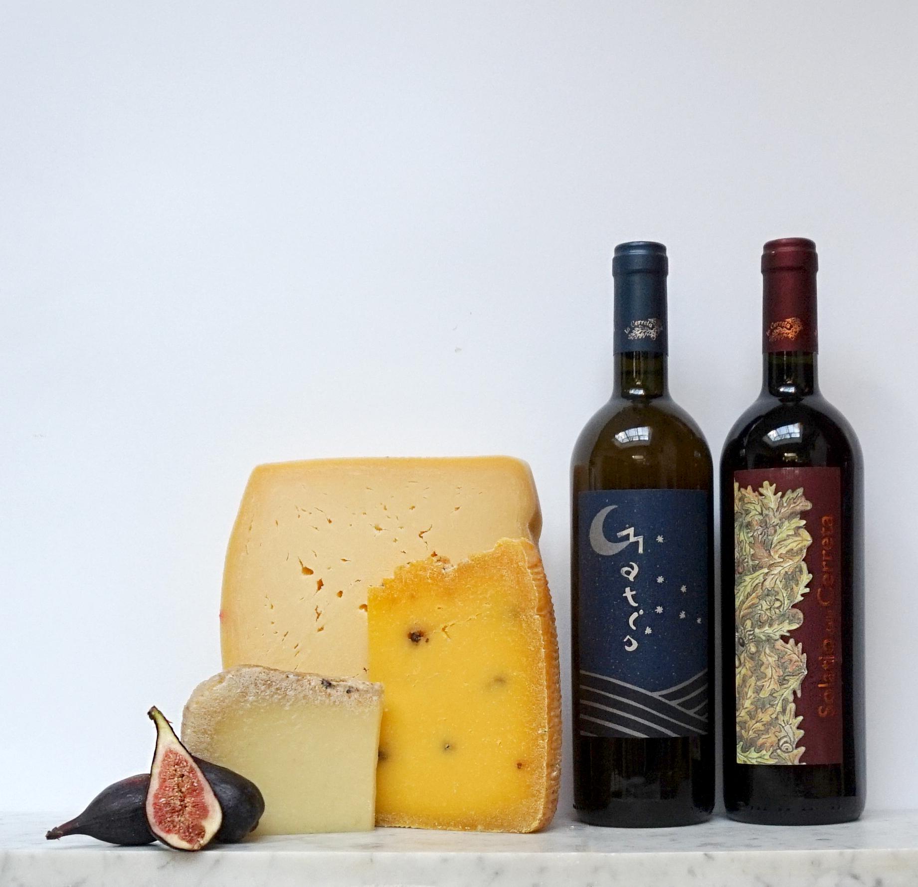 Sicilian Cheese and Tuscan Wine.jpg