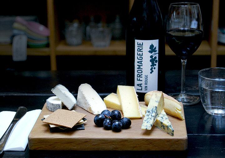 Seated Cheese & Wine