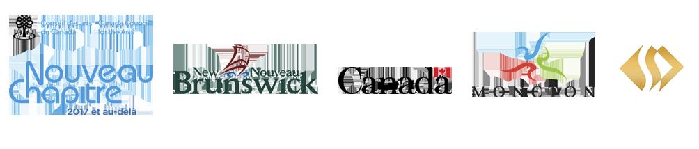 Nous reconnaissons l'appui du Conseil des arts du Canada, du Département du Tourisme, Patrimoine et Culture de la province du Nouveau-Brunswick, de Patrimoine canadien, de la Ville de Moncton, de la Fondation Sheila Hugh Mackay ainsi que de nos membres. Merci!  We acknowledge the support of the Canada Council for the Arts, the Department of Tourism, Heritage and Culture of the Province of New Brunswick, Canadian Heritage, the City of Moncton, the Sheila Hugh Mackay Foundation and of our members. Thank you!