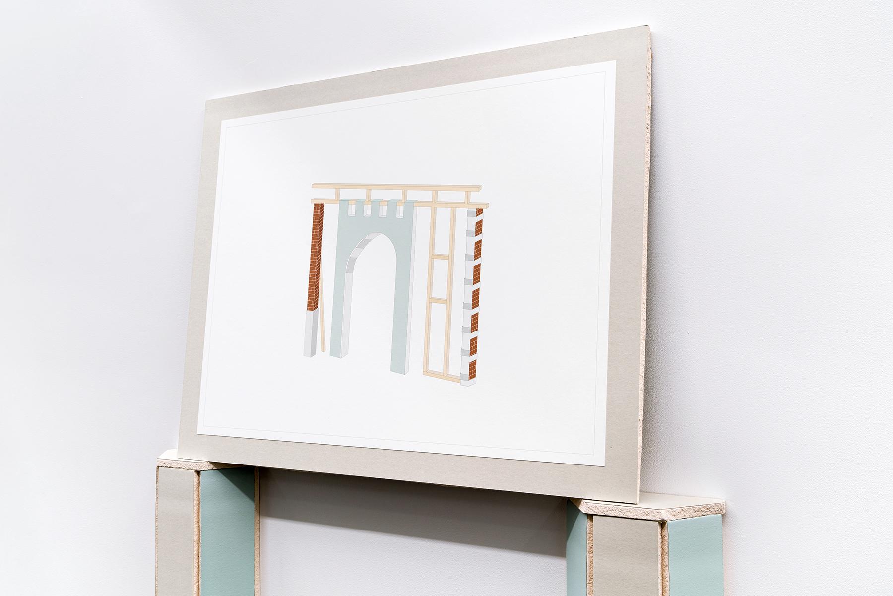 Galerie Sans Nom    Temporary structures : Mus inachevés, phase II   Ann Karine Bourdeau Leduc