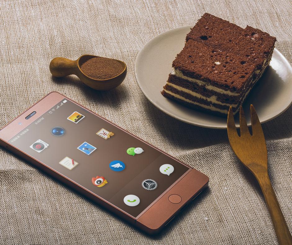 Social media isn't a cakewalk