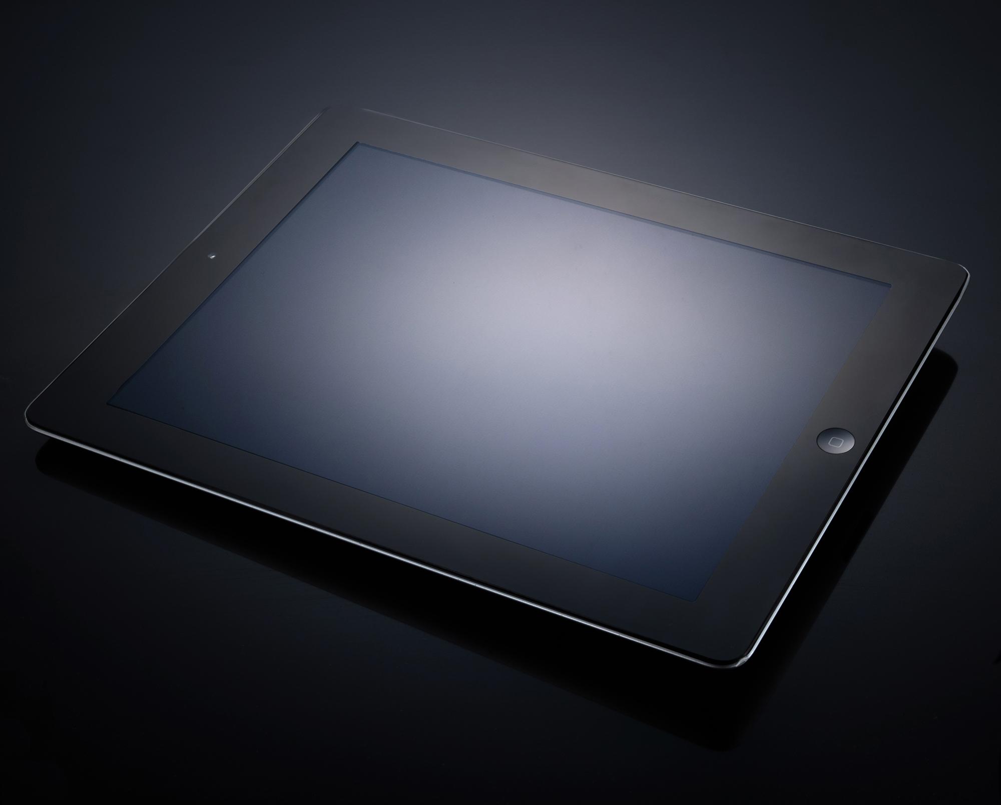 iPad Gradient Reflection