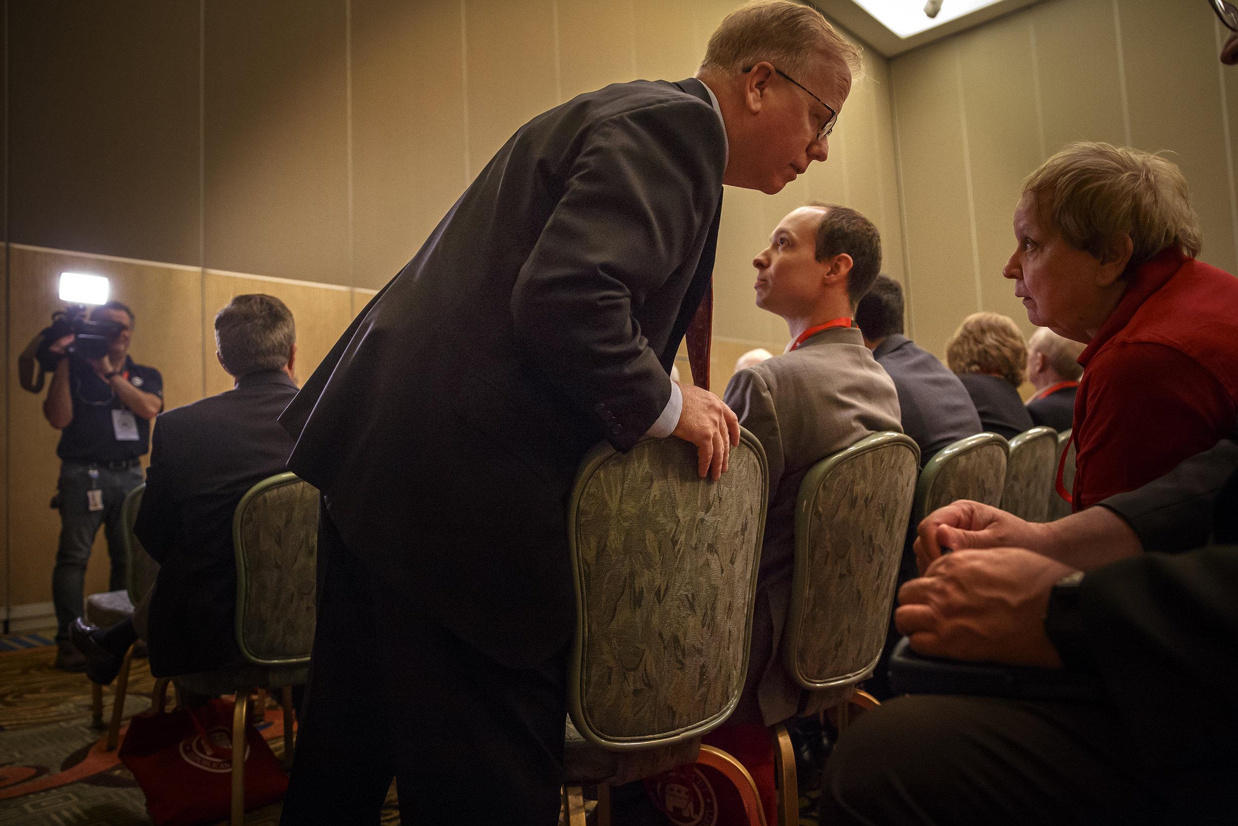 Ledyard, Ct. - 05/11/2018 - Connecticut GOP Convention.