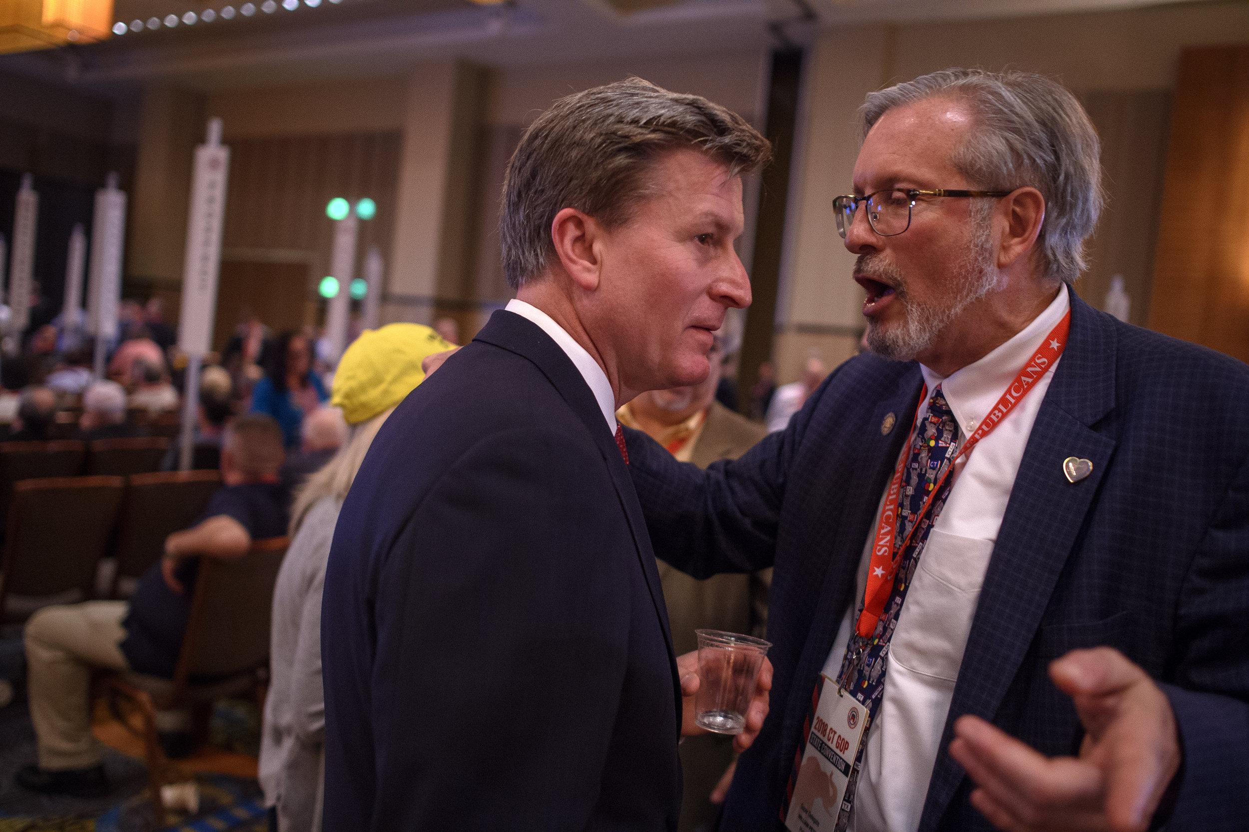 Ledyard, Ct. - 05/12/2018 - Connecticut GOP Convention.