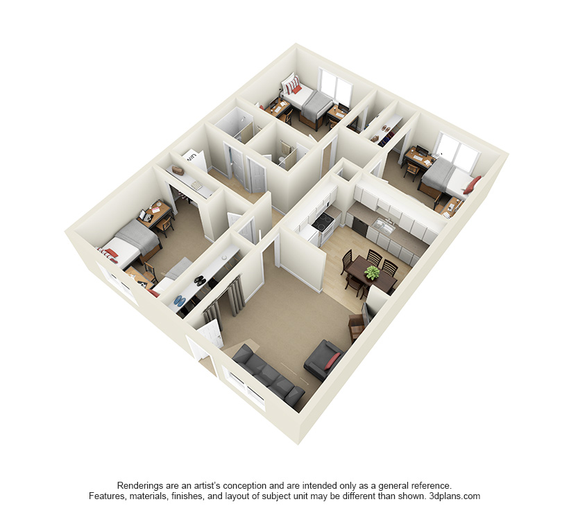 Floor Plans — BYU Idaho Approved Apartments Men & Women. The ...
