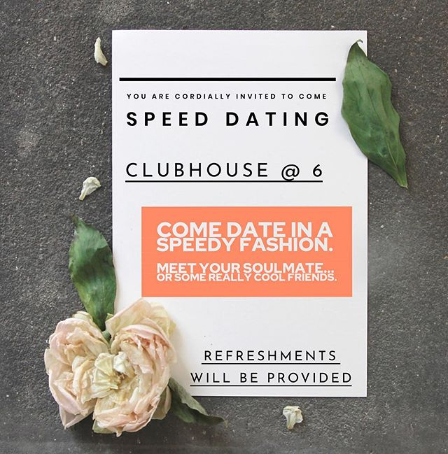 Come on Wednesday!! Fun will be had, friends will be made!  #heritagehomies #byui #rexburgidaho #byuihoising #speeddating