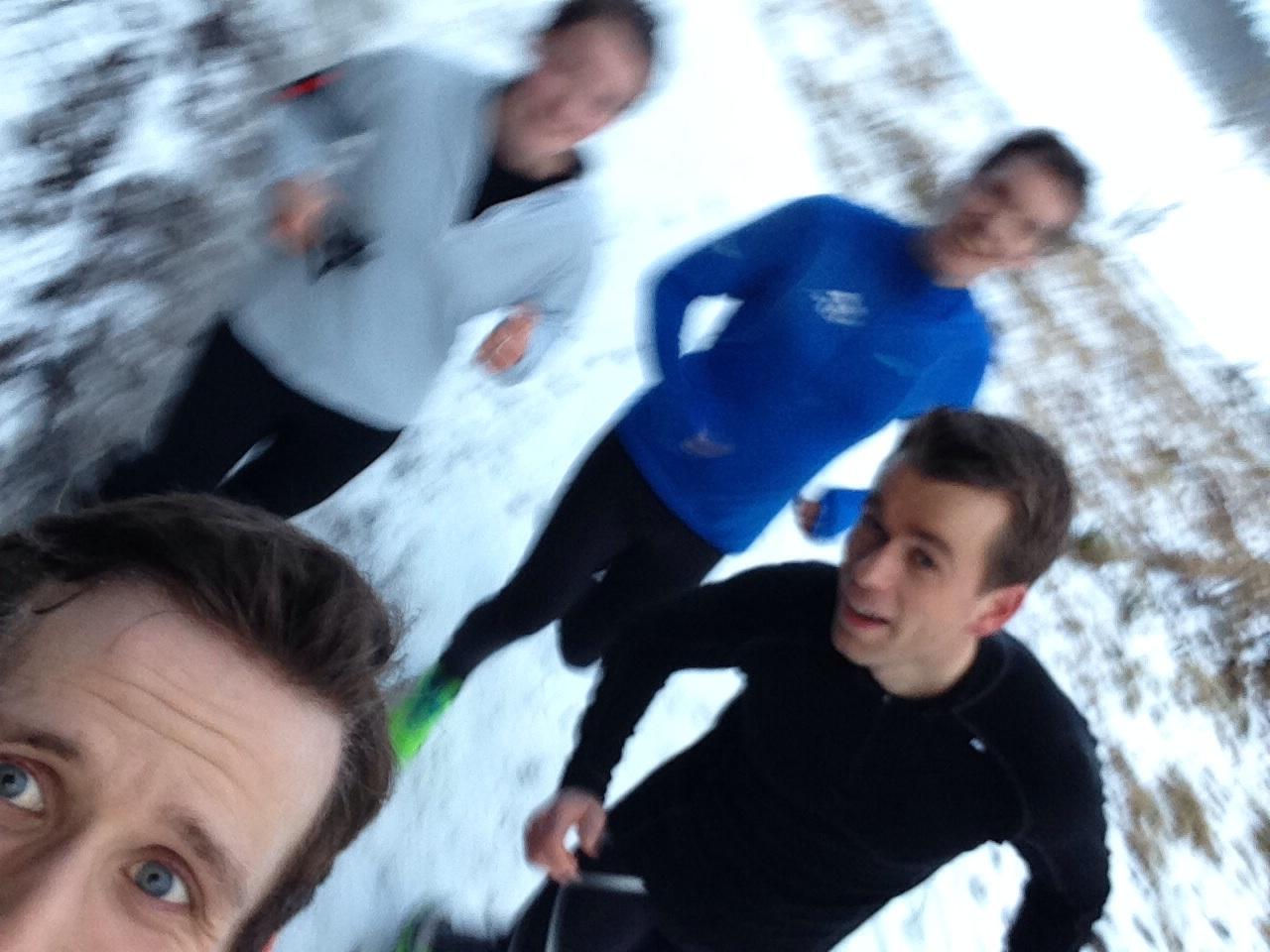 Løpevenner hjelper på sluttiden!