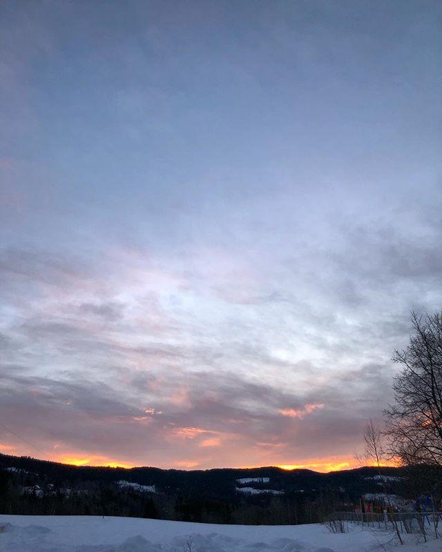 God morgen da Sørkedalen.