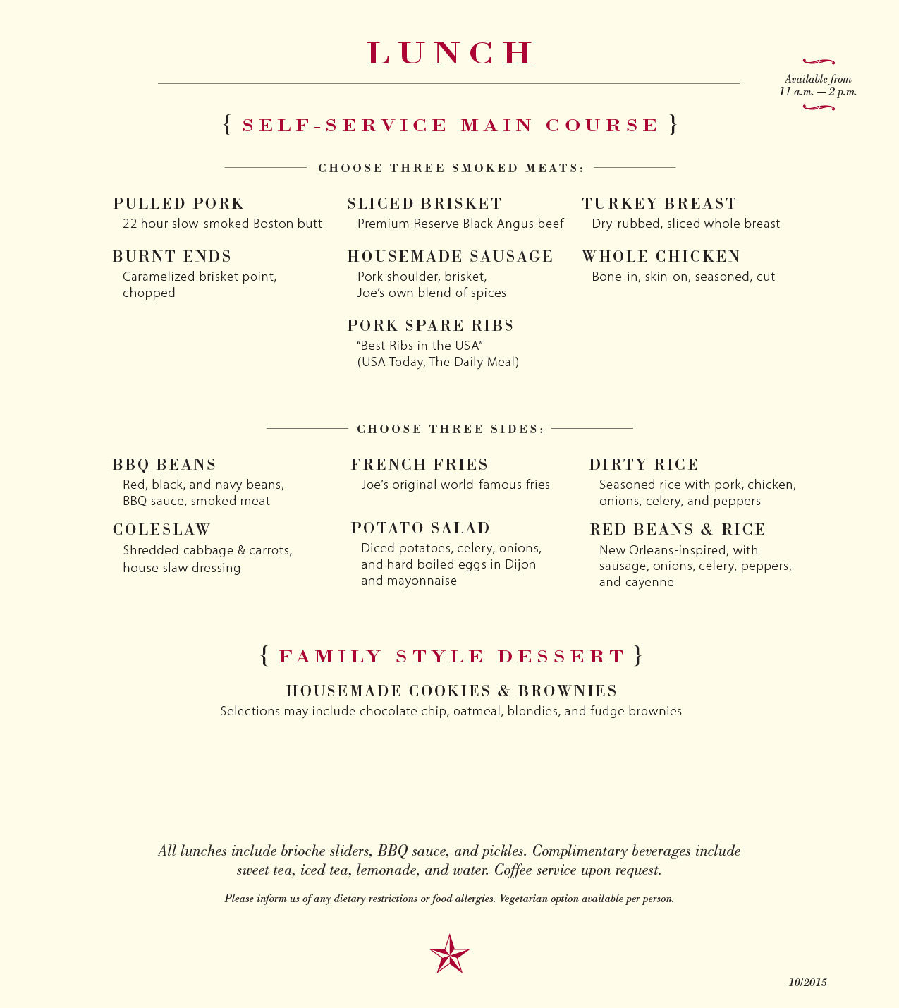 To download a PDF of the lunch menu, click here.
