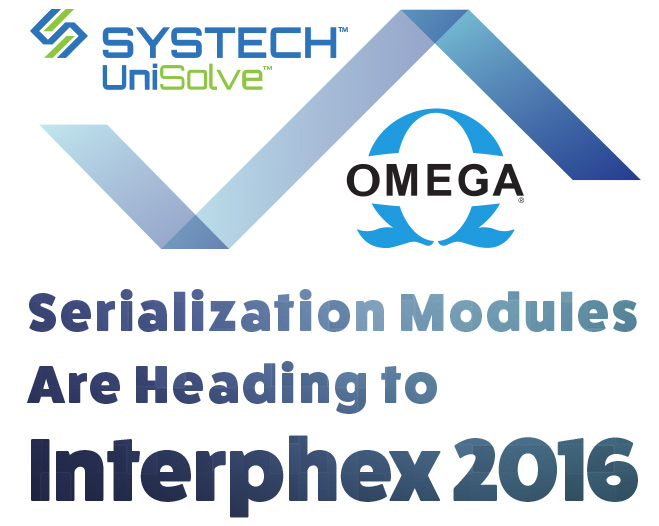 Omega Serialization Modules are Heading to Interphex 2016 in NYC