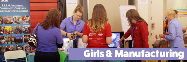 Girls Expo - Girls Exploring Tomorrow's Technology (GETT) is an annual regional expo (for girls grades 5-10). Omega's women-led team ran a booth at the show for the second year. They shared stories of how their STEM careers are fulfilling, rewarding, and fun. Visitors at Omega's booth also learned the importance of packaging automation from machine videos on display and by engaging in a hands-on booth activity. More than 800 girls and 300 parents attended the event.