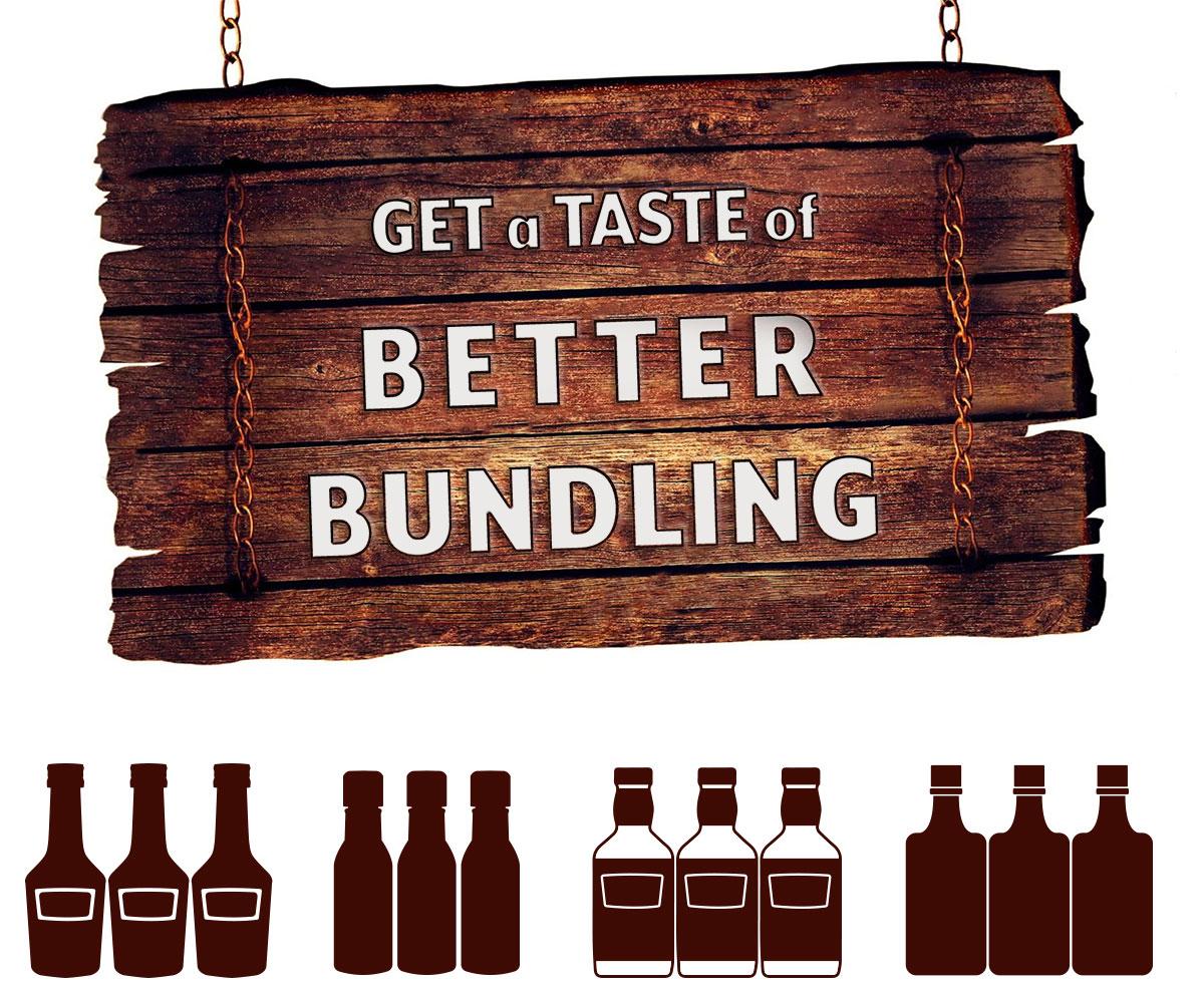 Get a Taste of Omega - Distillery - Shrinkbundler Packaging