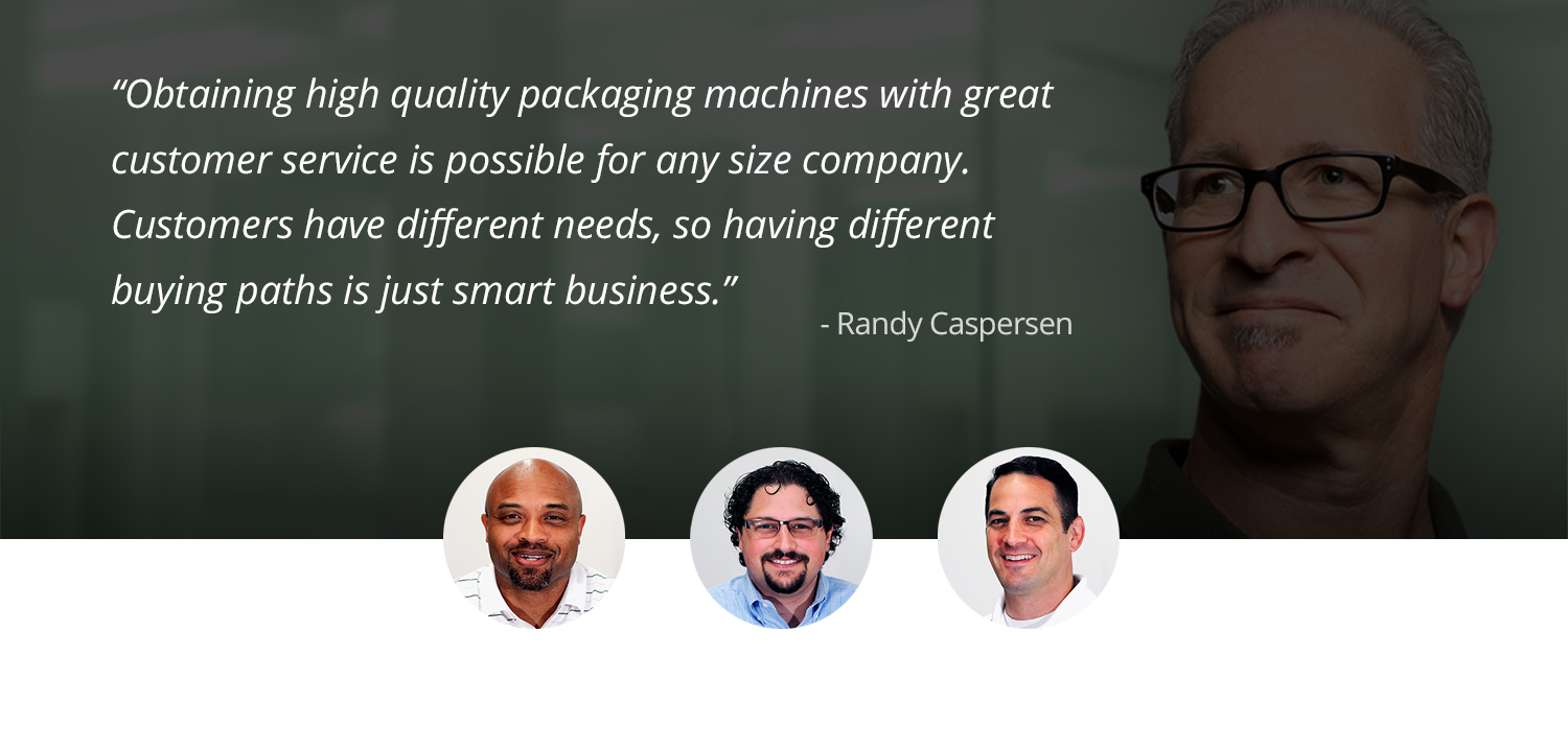 High quality packaging machines