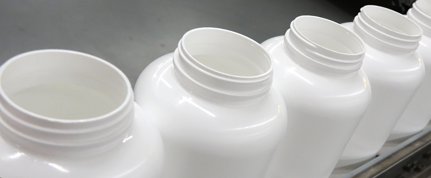Omega handles all types of containers for nutraceutical markets