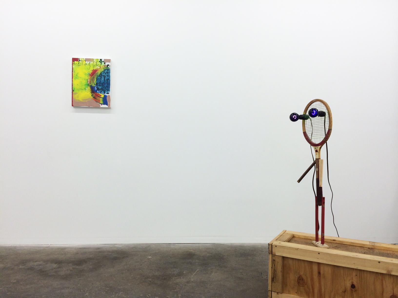 Installation shot Meg Cranston and Jon Pylypchuk