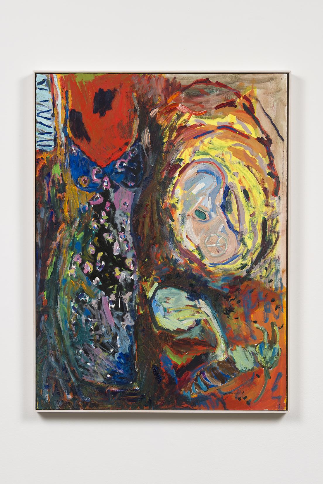 Adrianne Rubenstein - 90's Dress - 2015 - Oil on Panel - 32 1/2 x 24 1/2?