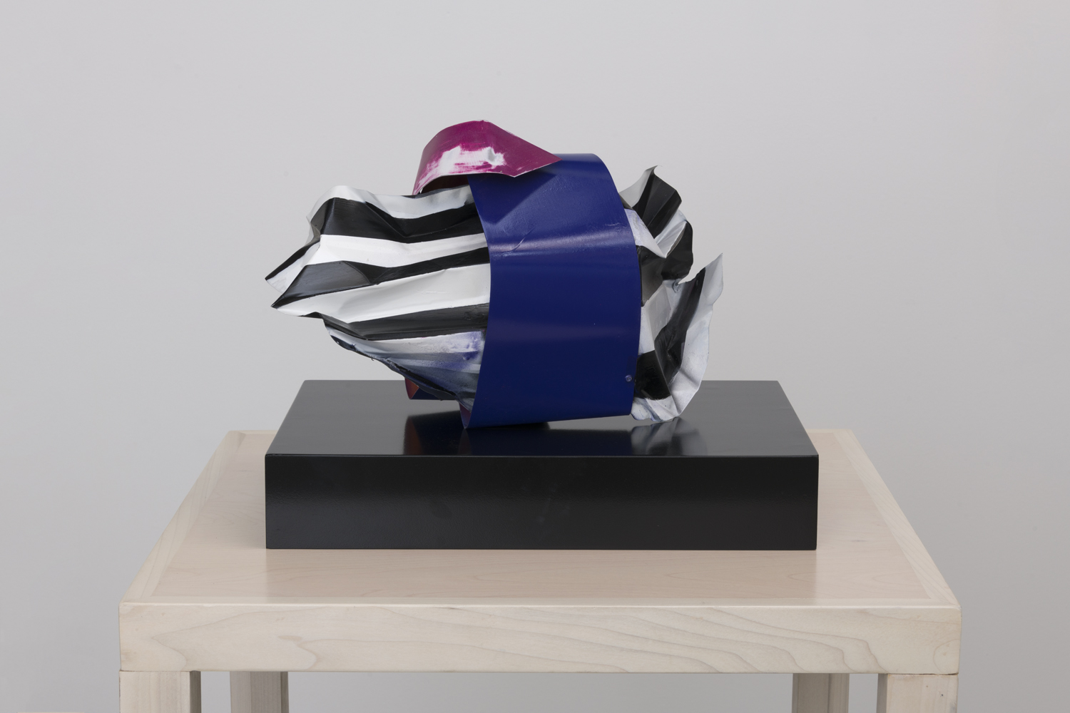 Nora Shields  Box Set One, 2018  Acrylic, aluminum, lacquer, and wood  12.5 x 11 x 13 inches