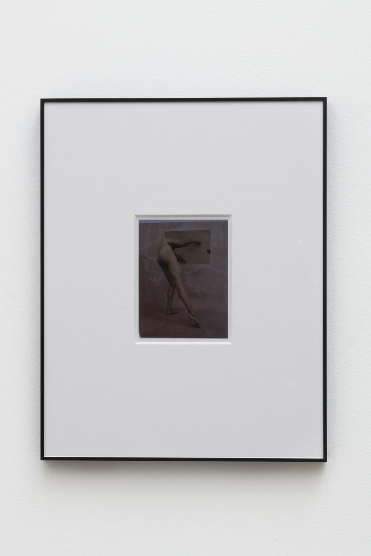 Heather Rasmussen  Untitled (Body/Sculptures, 1969-1973, After Hans Breder, pink), 2018  Polaroid  4.25 x 5.25 inches