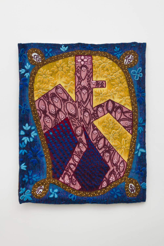 Tamara Gonzales  Untitled, 2016  Alpaca and wool  34 x 26 inches