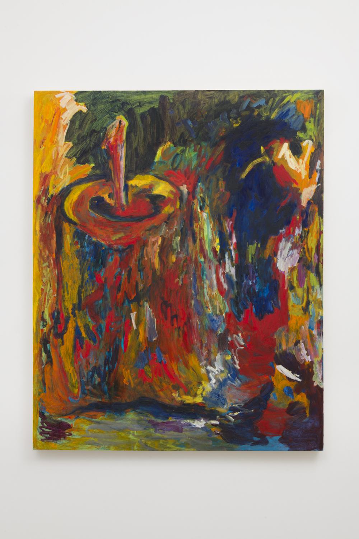 Adrianne Rubenstein  Moonlight, 2018  Oil on panel  47 x 35 inches