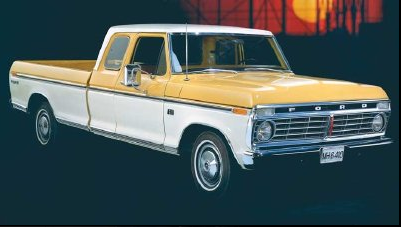 1974 Ford F-Series Supercab