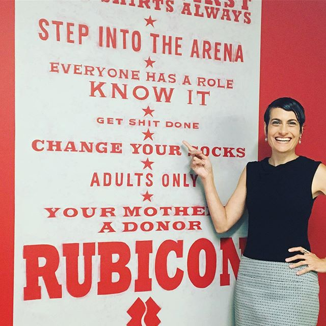 Loved being your speaker today on chaos, balance, and change, @teamrubicon! You are an inspiration! 💪🏽🔥😃 - - - #careerchange #lovewhatyoudo #decisionmaking #goals #purpose #keynotespeaker #inspirationalspeaker #motivation #wegotthis #chaos #change #habits
