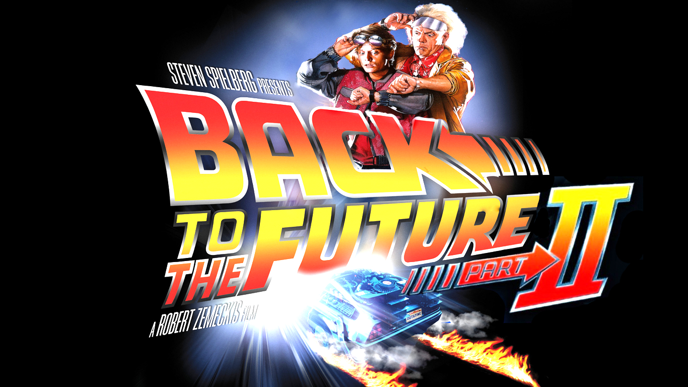 October 21st 2015 is the day that Marty McFly and co. go to in Back To The Future 2. No powered laces, hover boards, or Jaws 19 as yet, but we will be celebrating none the less!  We'll be showing the trilogy back to back in our Private Dining Room, we'll be serving hotdogs, burgers, popcorn, ribs, dehydrated pizza*, be glugging pepsi and whiskey like it was 1885/1955/1985/2015 and will have a prize for the best dressed Back to The Future character!  So get your flux capacitors fluxing, and prepare to hit 88 miles an hour at The Fat Pug this October 21st 2015!
