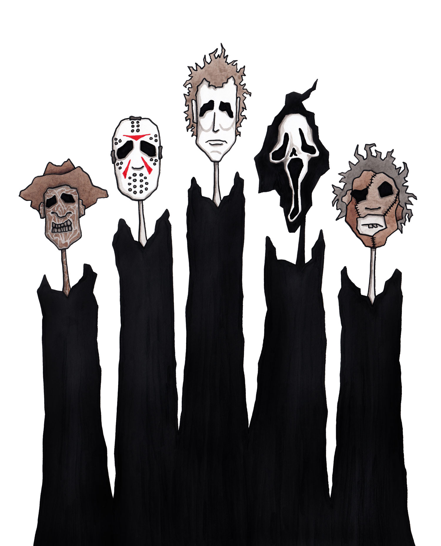 horror-freddy-kruger-michael-myers-jason-voorhees-ghostface-leatherface-illustration-matthew-woods.jpg