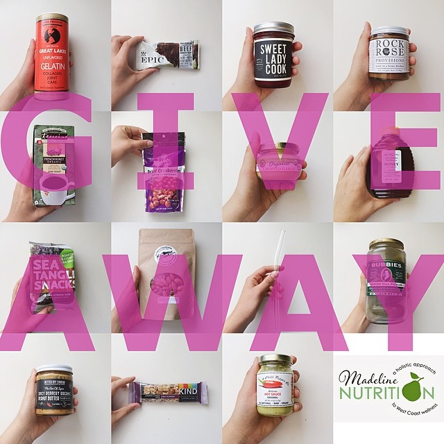 Madeline Nutrition — GIVEAWAY TIME ($150 VALUE!)