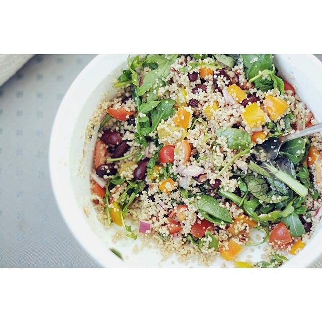 Madeline Nutrition — Rainbow Millet Salad Recipe