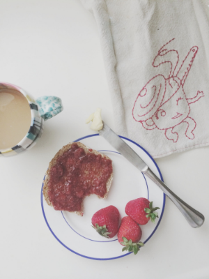 Strawberry Chia Seed Jam — Madeline Nutrition