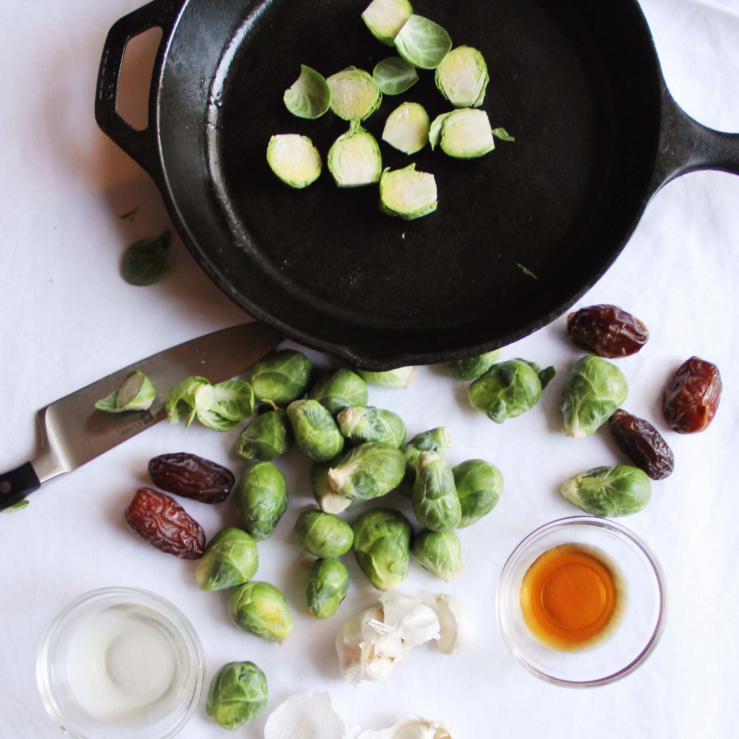 Madeline Nutrition —Tangy Roasted Brussels Sprouts