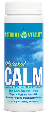 Natural Vitality CALM (Magnesium Citrate)