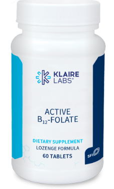 Klaire Labs Active B12 + Folate