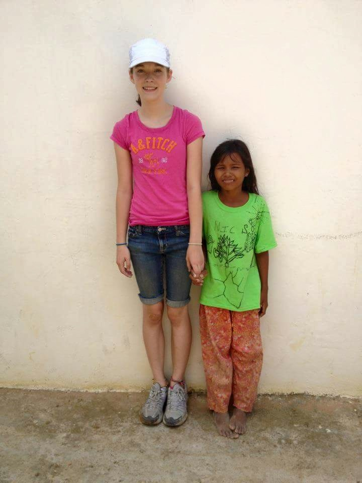 Failure to thrive was seen in this picture from 2012 when both our daughter, Jordan, and sweet Nik were 12 years of age. The difference in body size was shocking to us then.
