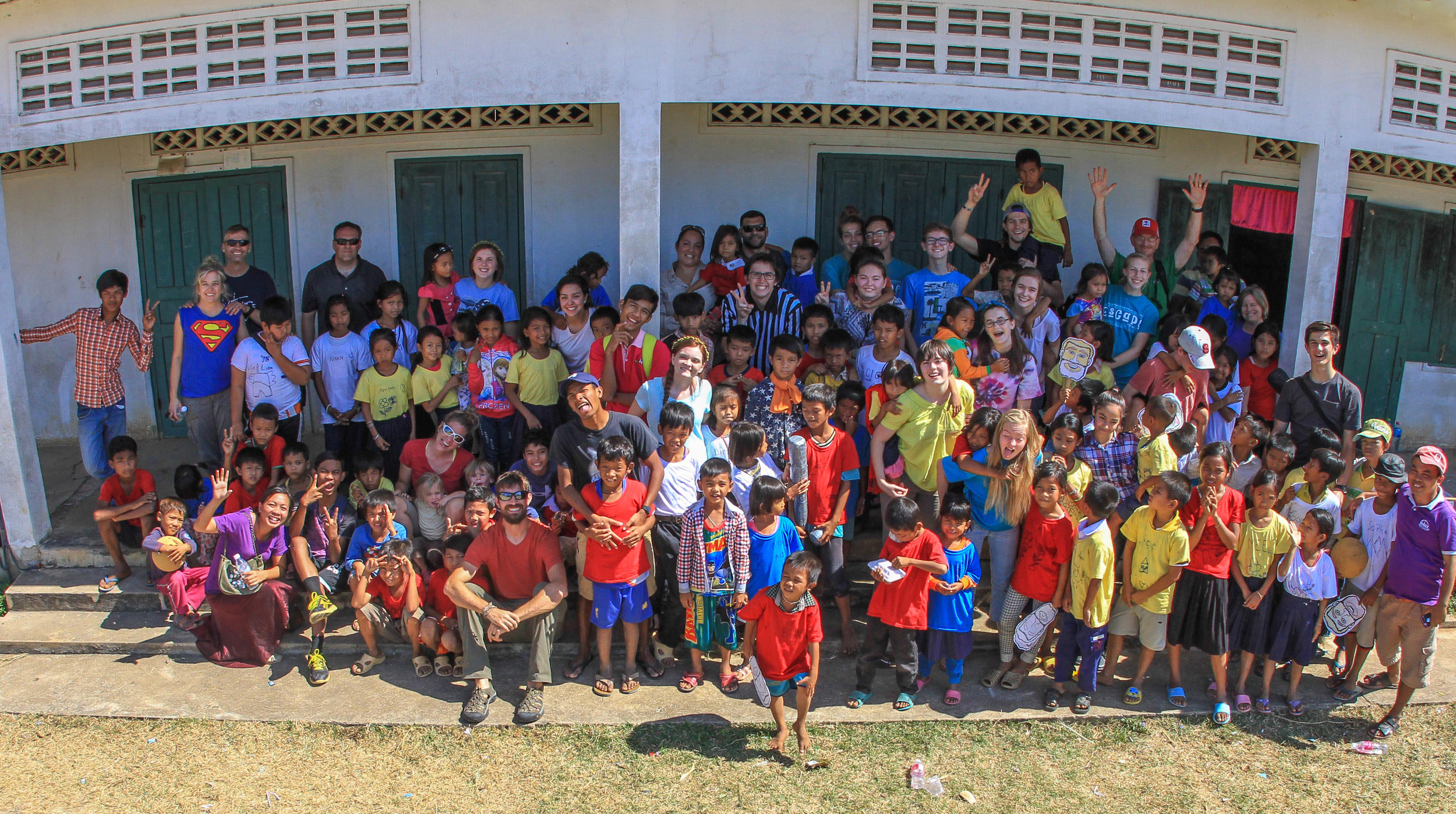 The Okinawa team and some of the kids who had a blast in Bible school this past week!