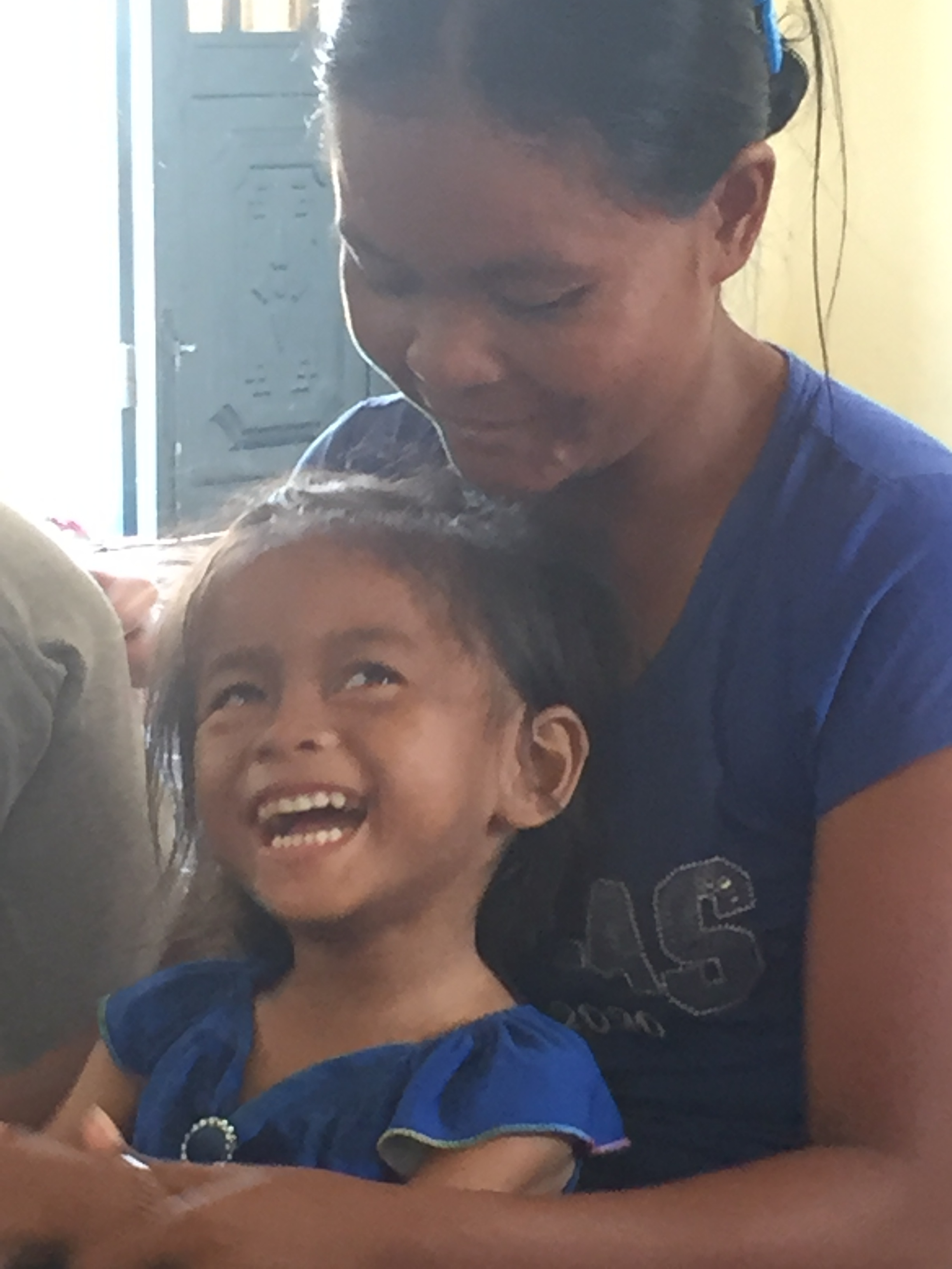 The best part of worshiping with the ladies of LandMine Design has been watching Ganya break into a smile each time. How I long for heaven when the chains that hold her body captive are broken and she is free!