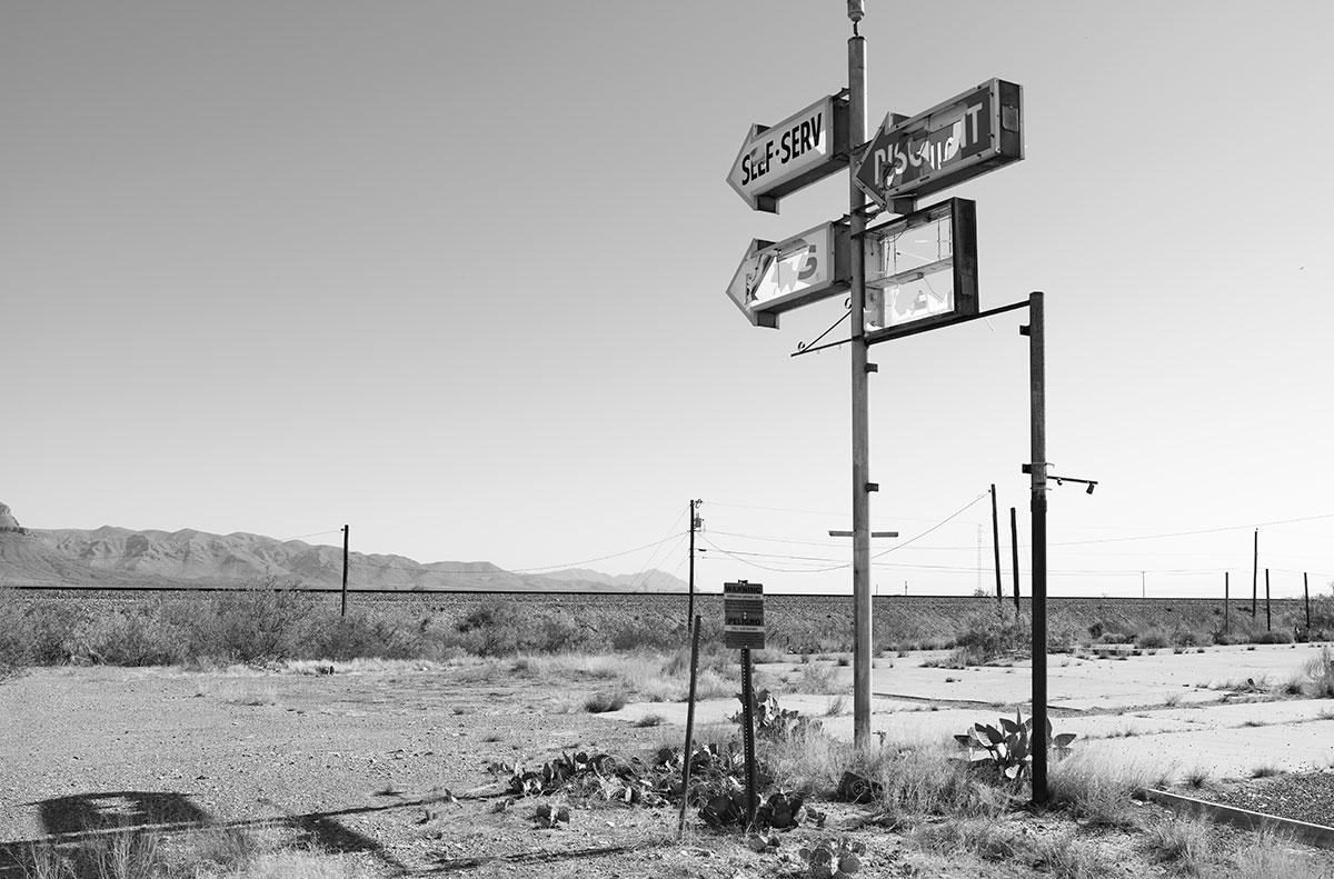 Abandoned Gas Station, Van Horn, TX