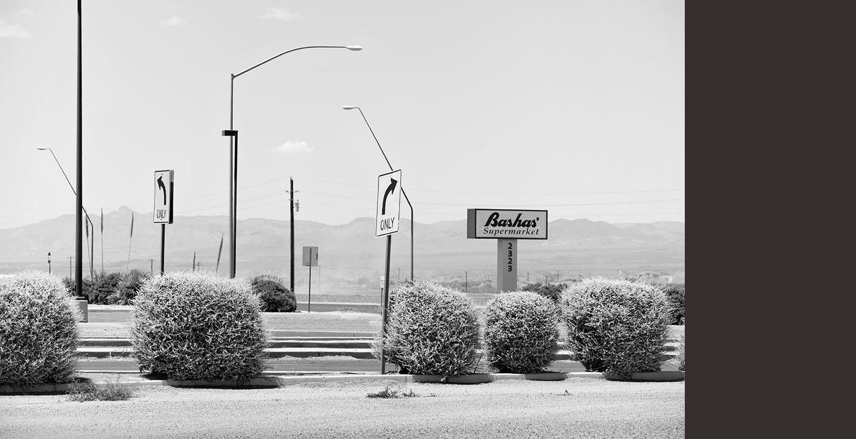 Basha's Entrance Road, Stafford, AZ