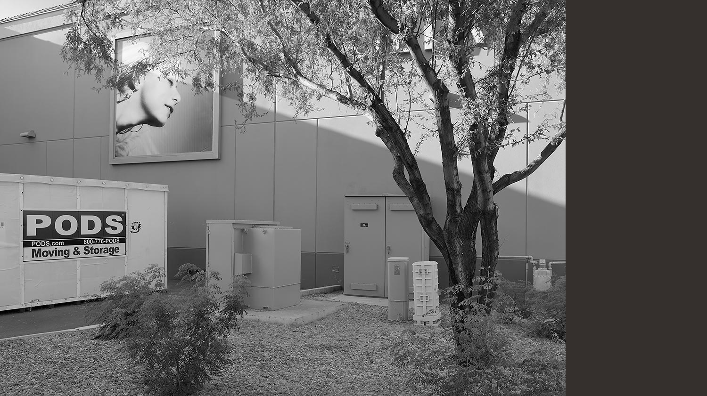 Rear Entrance, Desert View Marketplace Mall, Phoenix, AZ