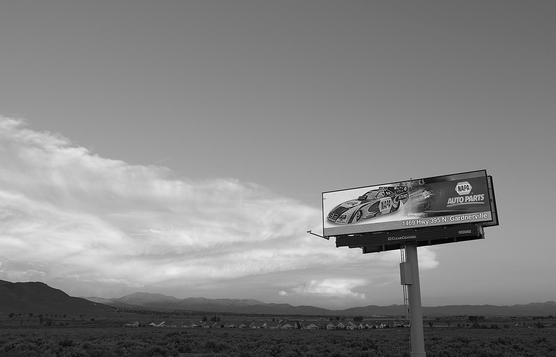 NAPA Auto Parts. Electronic Billboard, Carson City, NV
