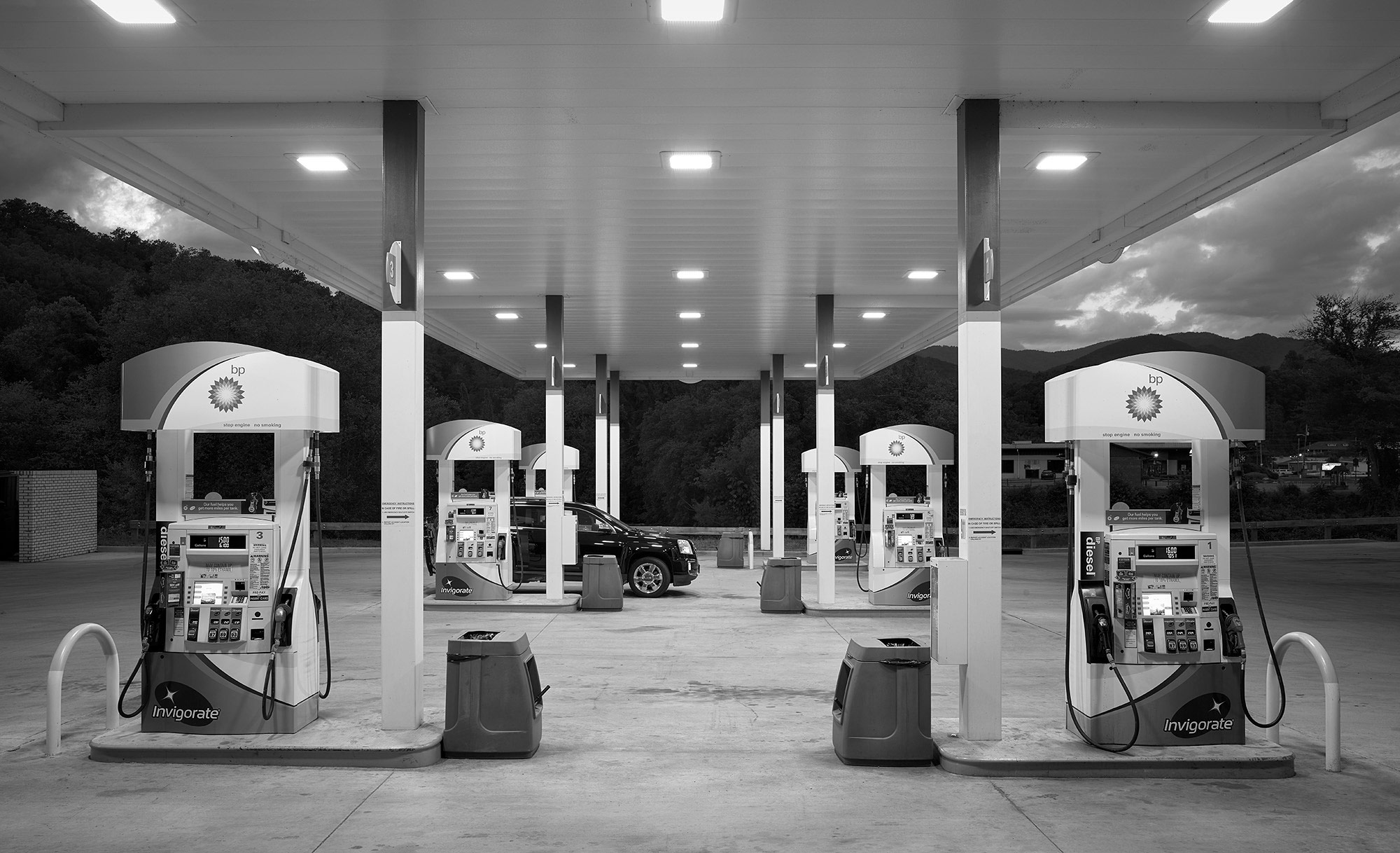 BP Gas, Bryson City, NC
