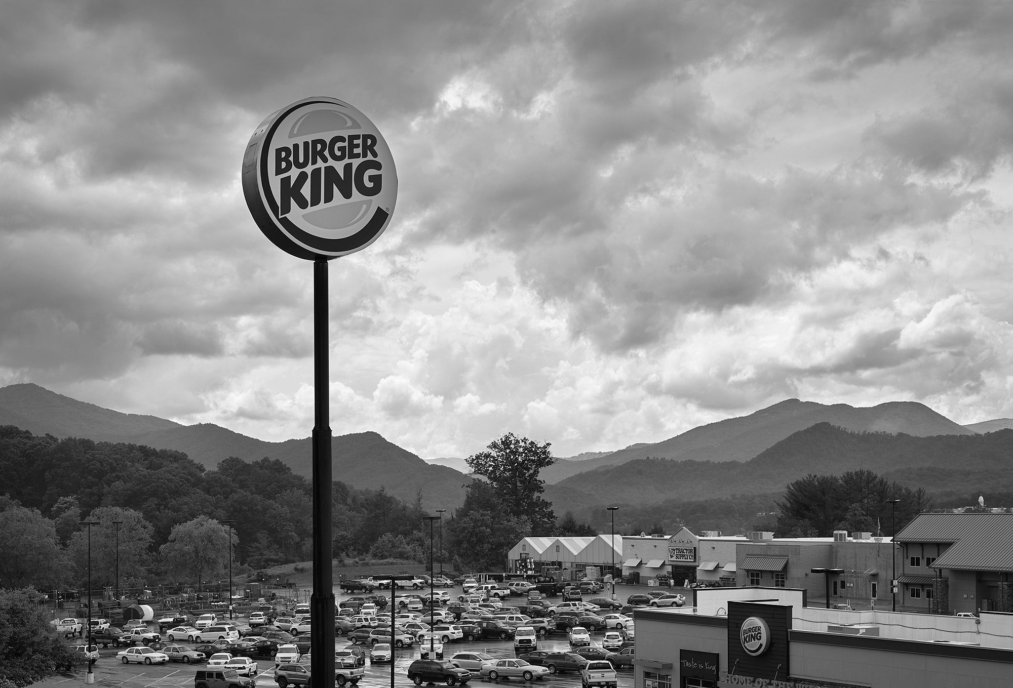 Burger King, Lake Side Plaza, Clyde, NC
