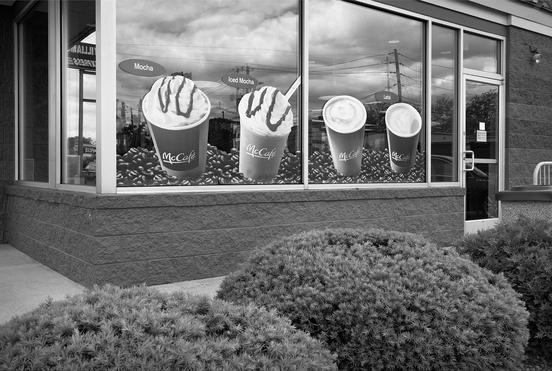 """McCafe,"" McDonald's, Allentown, PA"