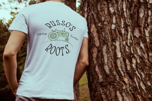 russos roots tshirt design