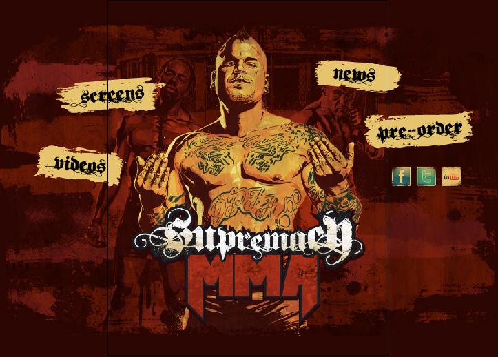 Supremacy MMA Website
