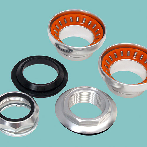 Double Roller Drive - Needle bearings that may help reduce fork shimmy/speed wobble