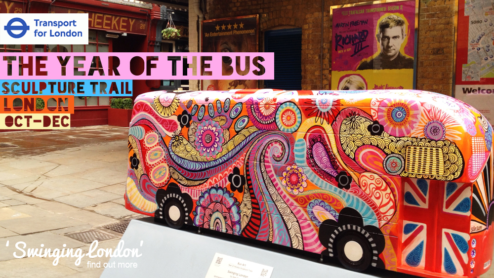 Year of the Bus - a Wild in Art Event -London