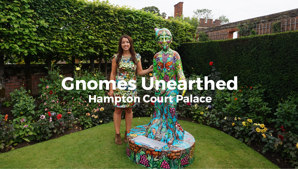 Gnomes Unearthed, Hampton Court Palace